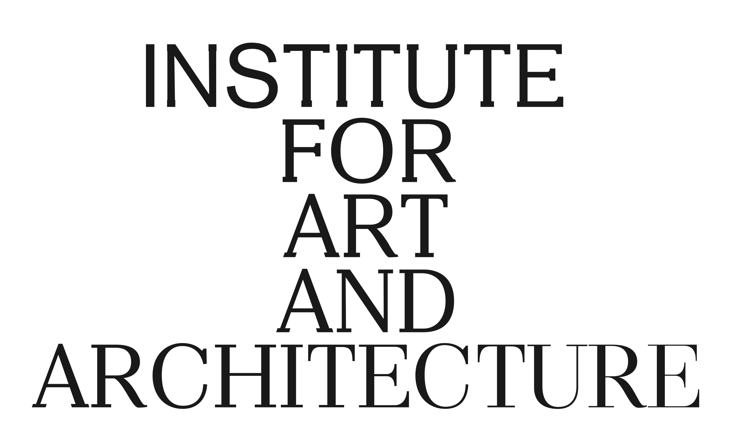 Institute for Art and Architecture